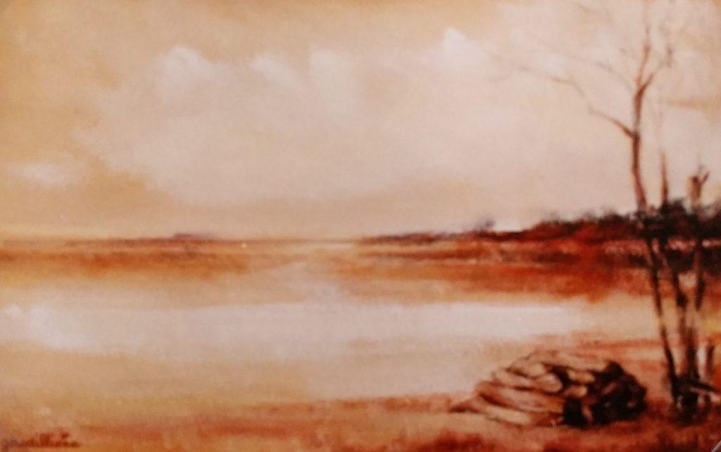 1980 -2 solitude paysage 4P 0,22-0,33 isorel