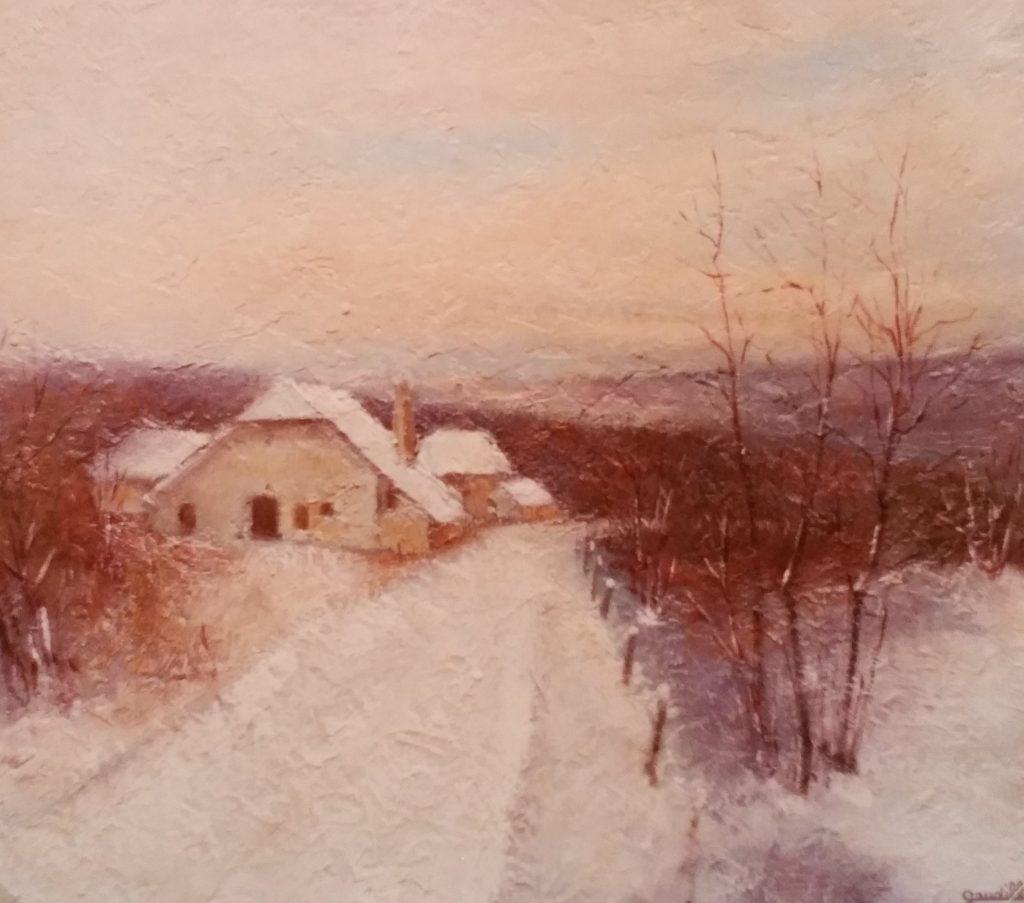 1982-7 ferme sous la neige 8F 0,38-0,46 isorel