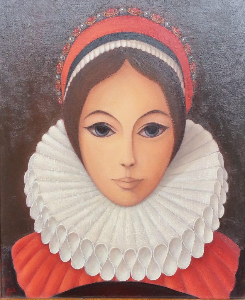 1982 la jeune fille à la colerette 0,46-0,38 toile (2)