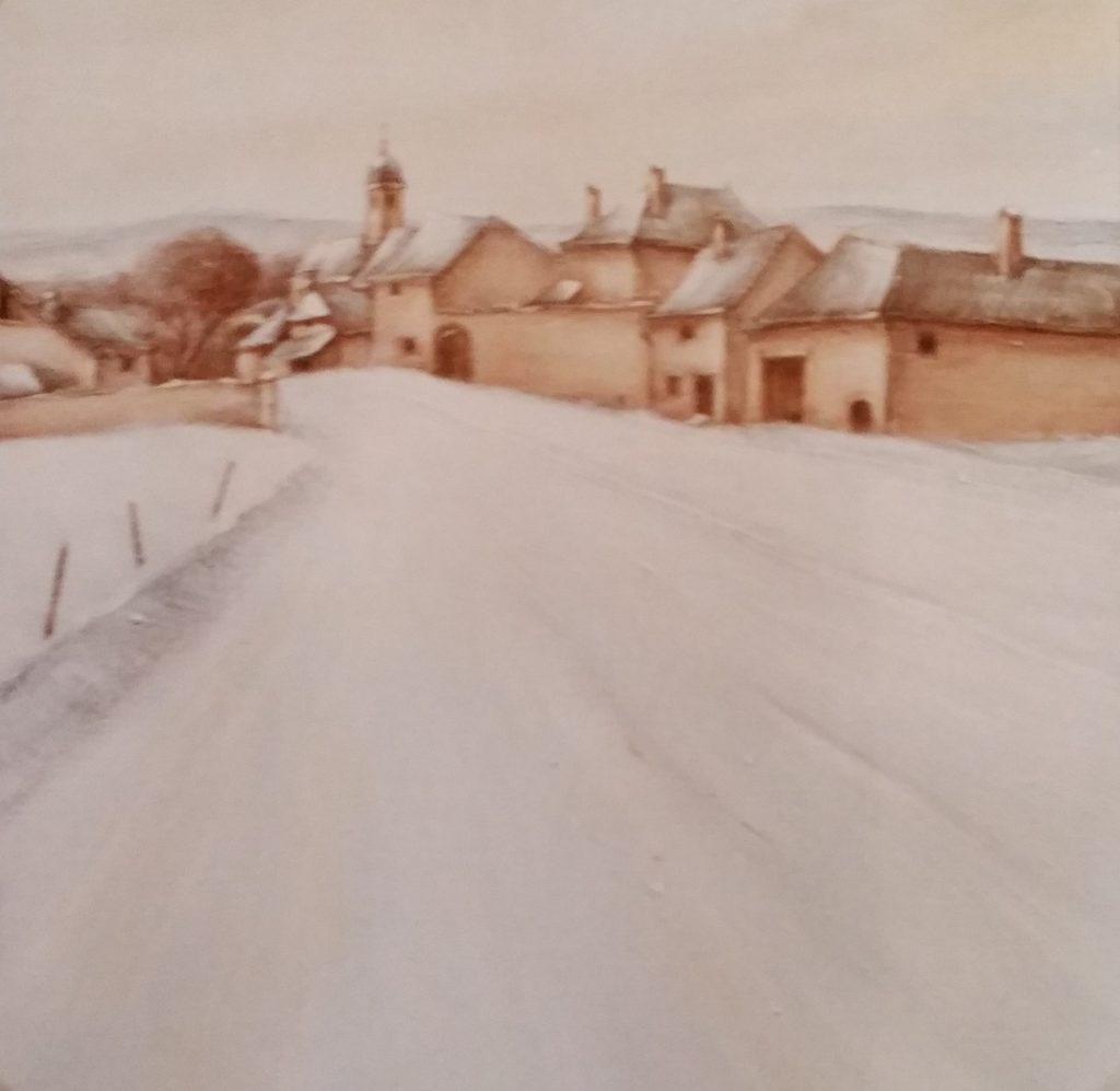 1984-13 la grande rue du village 10F 0,55-0,46 isorel