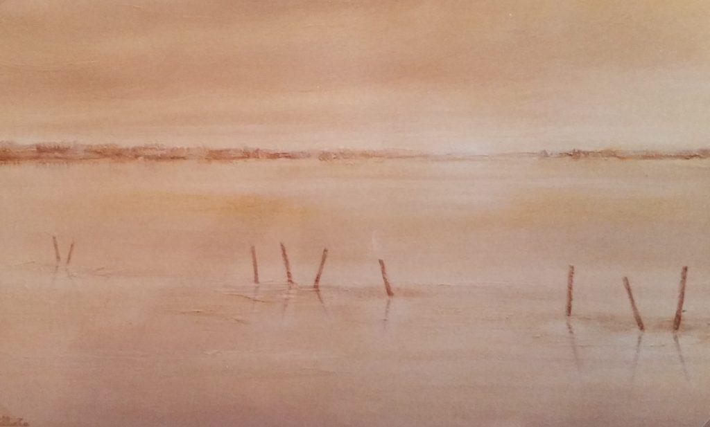 1984-7 la plaine inondée 12M 0,38-0,61 isorel