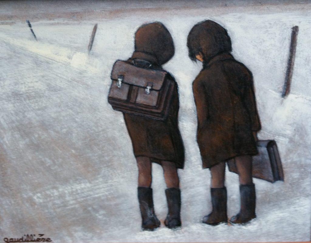 1985 sur le chemin de l'école 2F 0,19-0,24 isorel