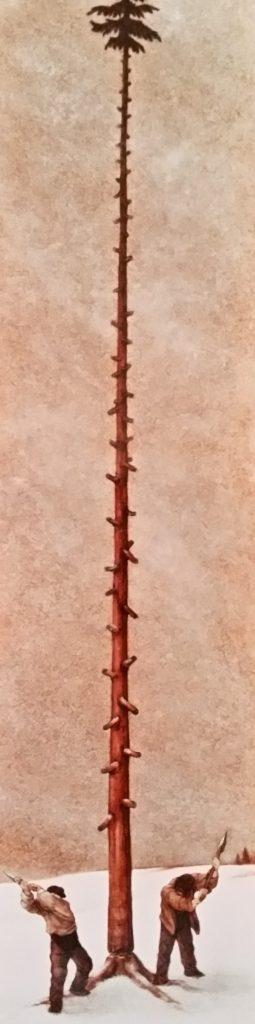1988-1 les bûcherons HF6 isorel