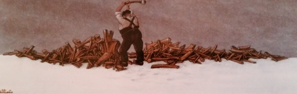 1988-8 le fendeur de bois HF5 0,18-0,54 isorel