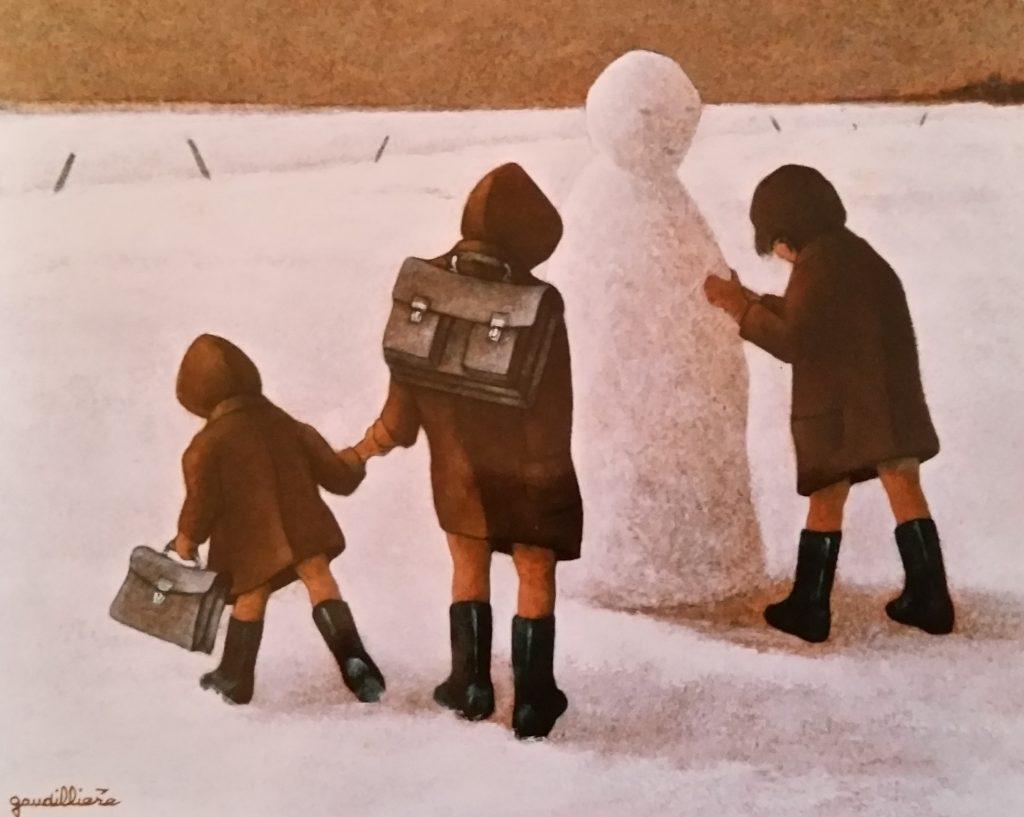1989-31 le bonhomme de neige 3F 0,22-0,27 isorel