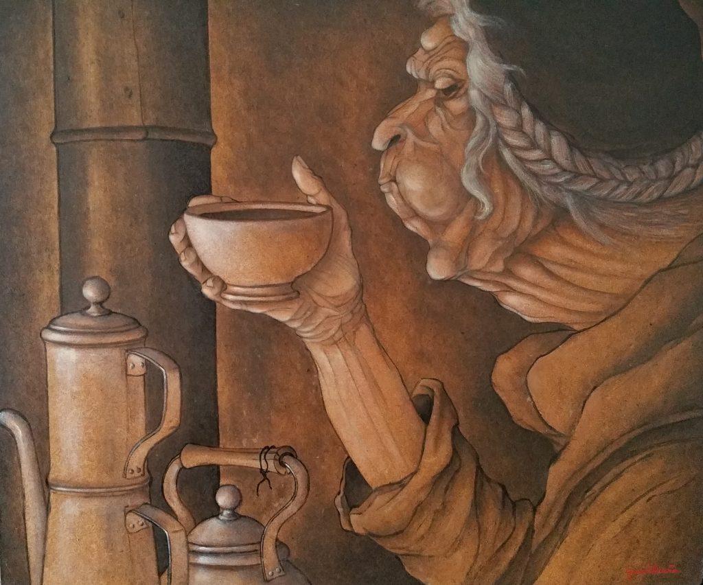 1989 le café noir 15F 0,54-0,66 isorel