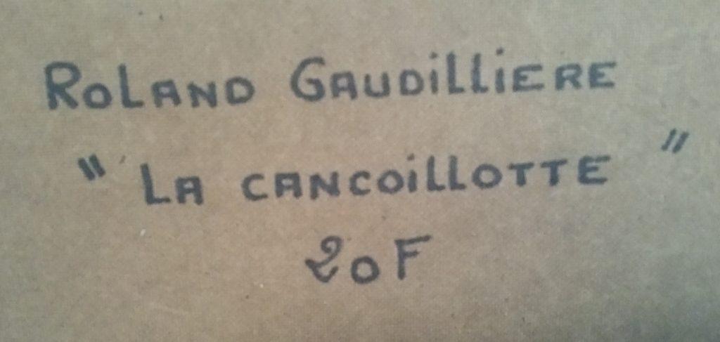 1991 la cancoillotte verso