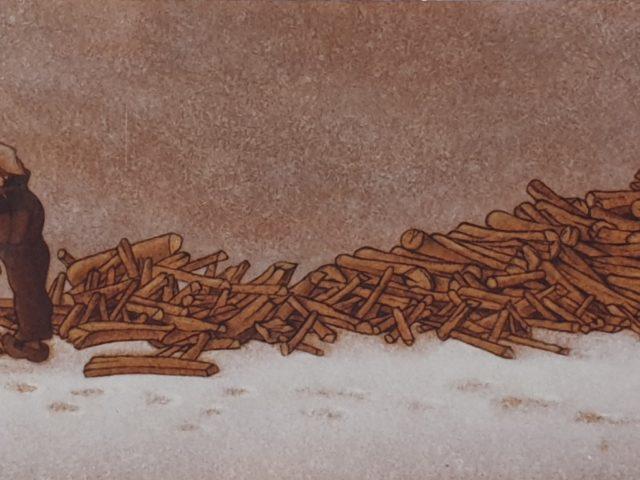 Le bois pour l'hiver