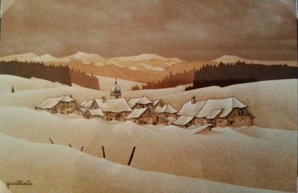 1995-13 village au fond de la vallée 4P isorel