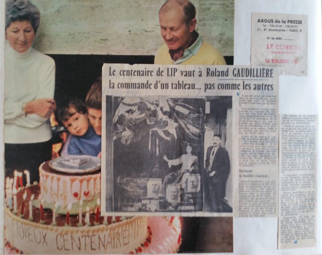 59-1967 Lip,la toile du centenaire
