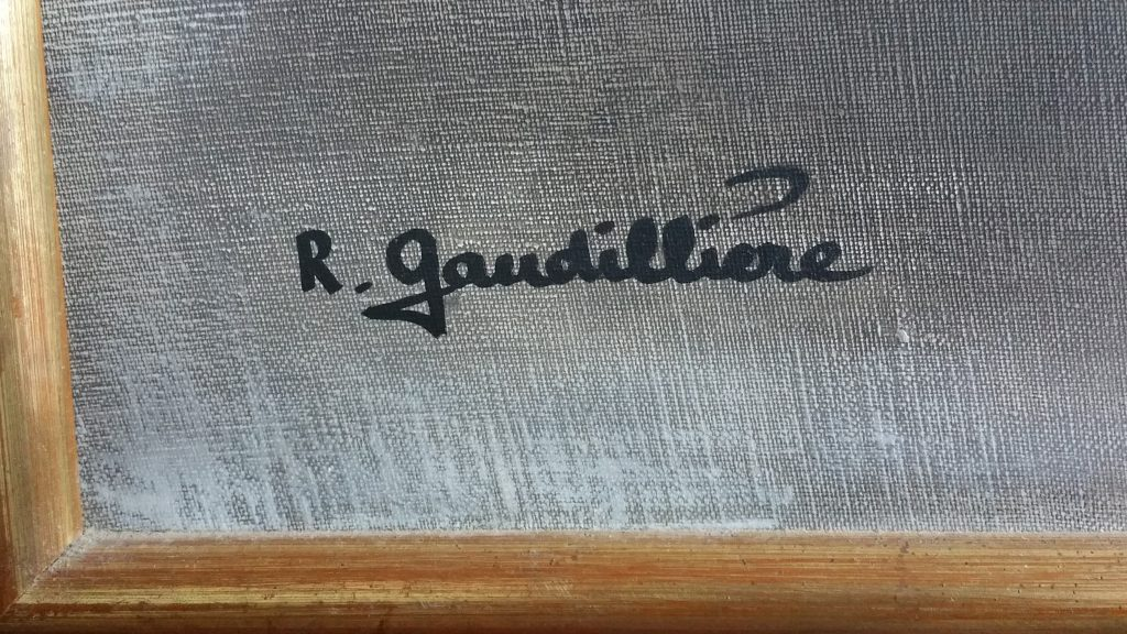 1960 le dindon signature