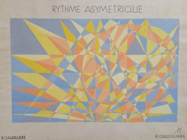 Le rythme asymétrique, Arts Décoratifs Paris