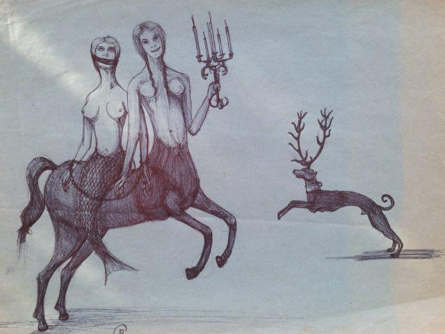 Les gorgones, femmes cheval
