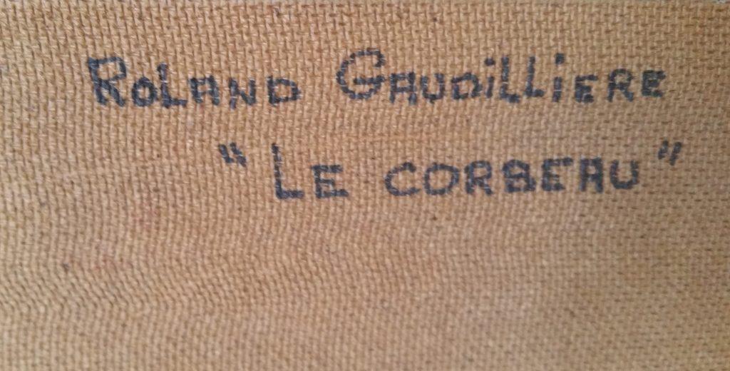 1965 le corbeau verso