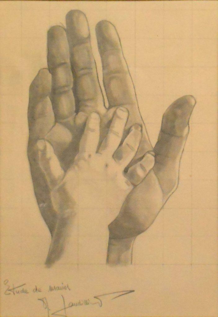 1972 la main de Renaud dans celle de son pére (2)