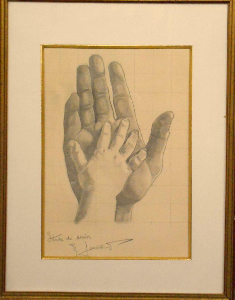 1972 la main de Renaud dans celle de son pére