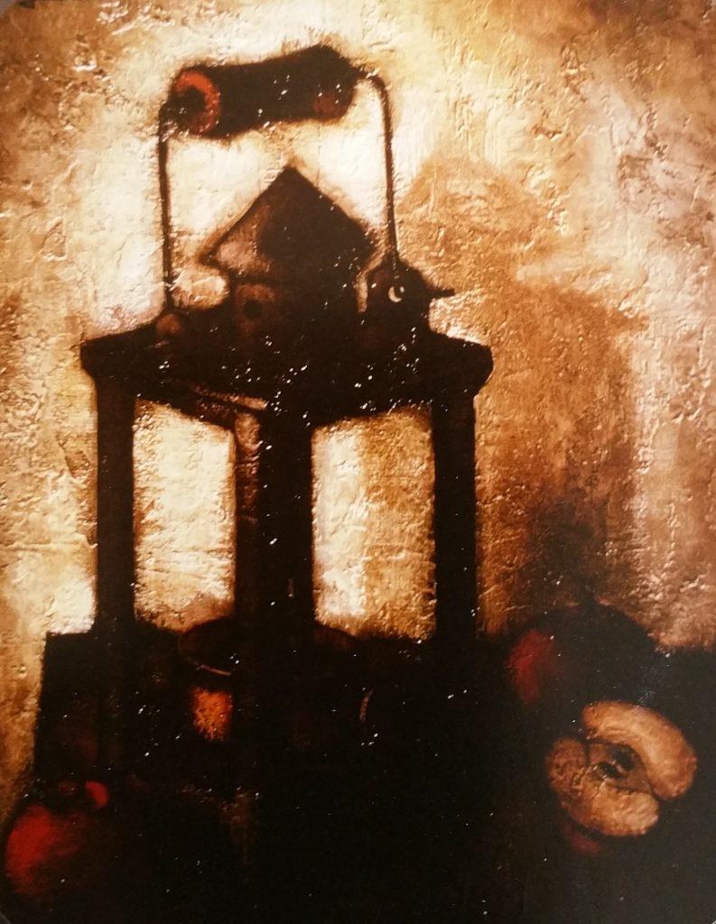1962-35 la lanterne ou la lampe10F 0,55-0,46 isorel,au verso,titre la lampe
