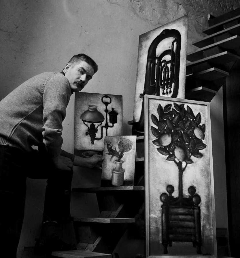 1966 la basse,le petit citronnier gelé,le quinquet,l'artichaut bernard Faille,Mémoire vive