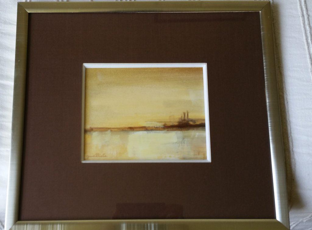 1977 le miroir 0,15-0,19 huile sur papier
