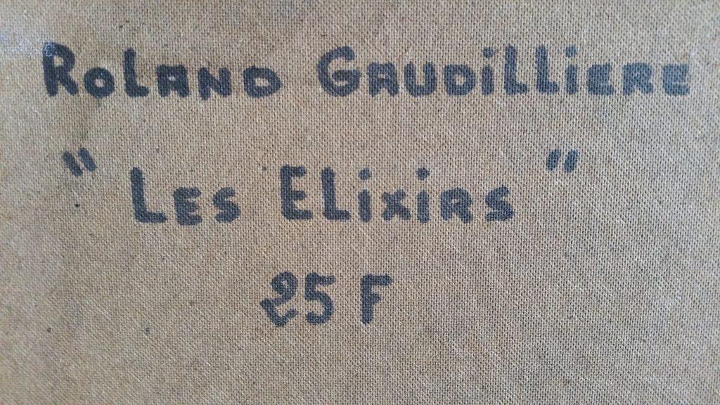 1977 les elixirs verso
