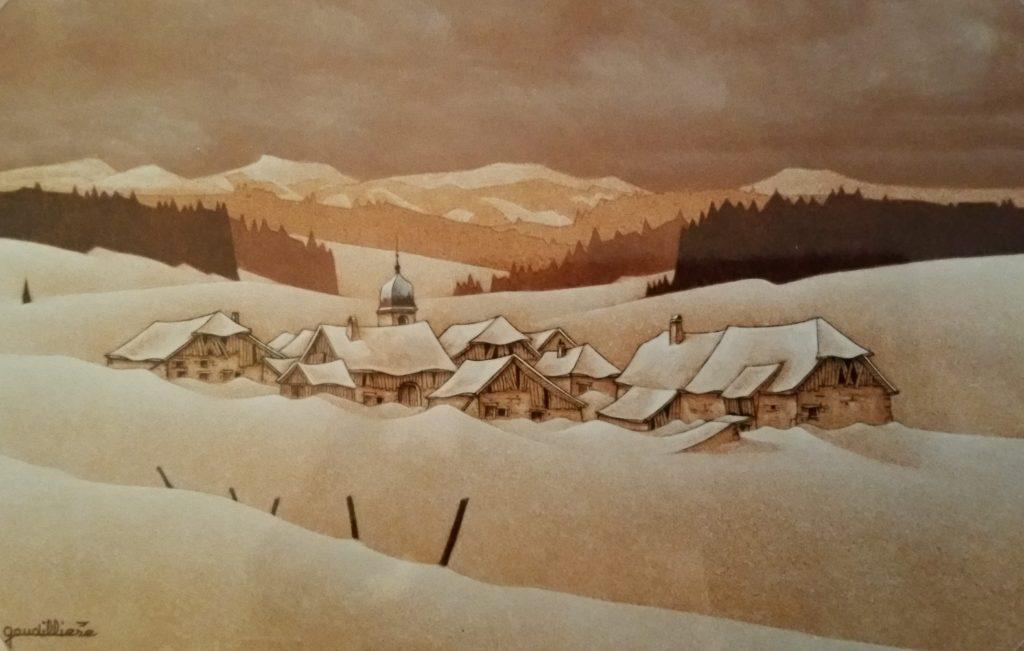 1995-13 village au fond de la vallée 4P 0,22-0,33 isorel