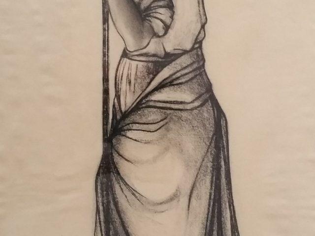 Femme au râteau