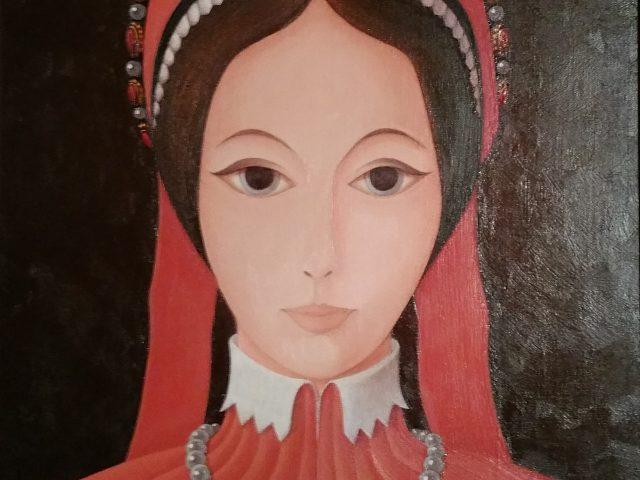La jeune fille aux rubans rouges