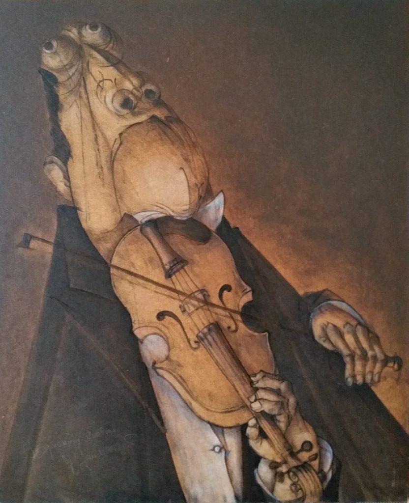 1985 le premier violon 20F 0,73-0,60 isorel