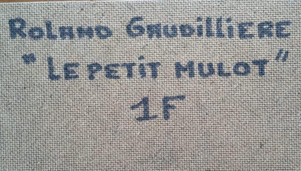 1991 le petit mulot n°1 verso