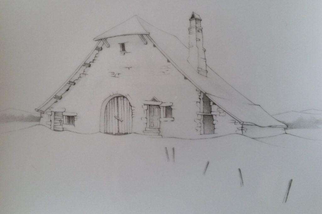 40-1995 la ferme oubliée étude
