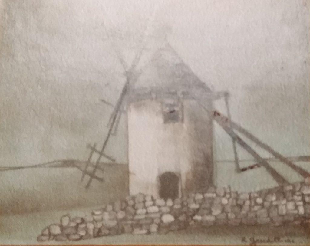 1958-4 le moulin à vent ou le moulin 3F 0,22-0,26 isorel