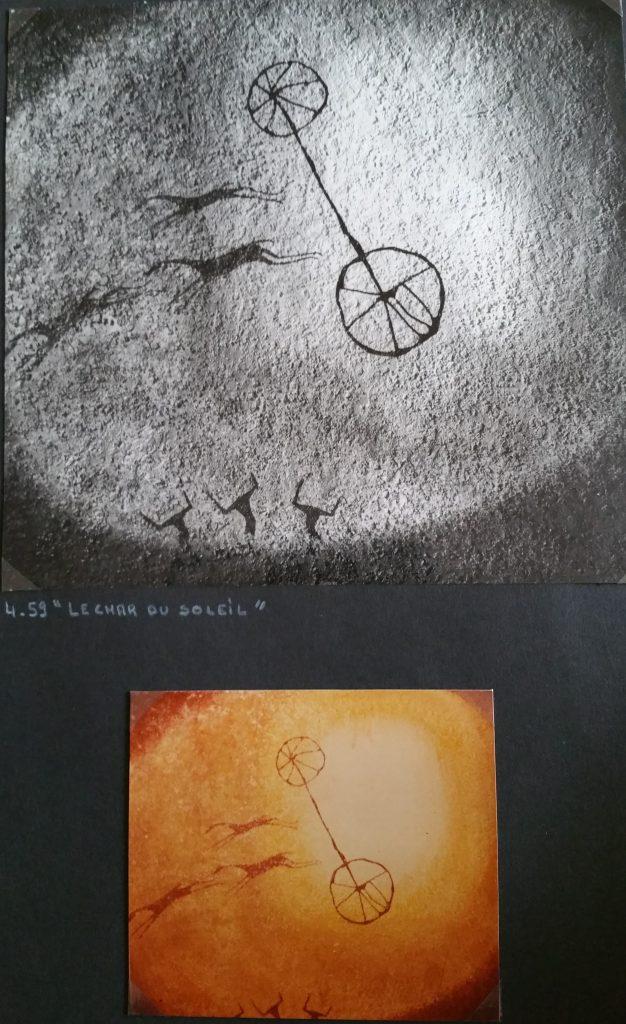 1959-4 le char du soleil-les cavales HF 1,30-1,35 isorel