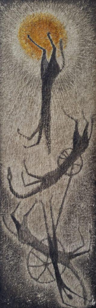 1959 la chute de Phaéton,fils du soleil HF25 1,30-0,42 isorel