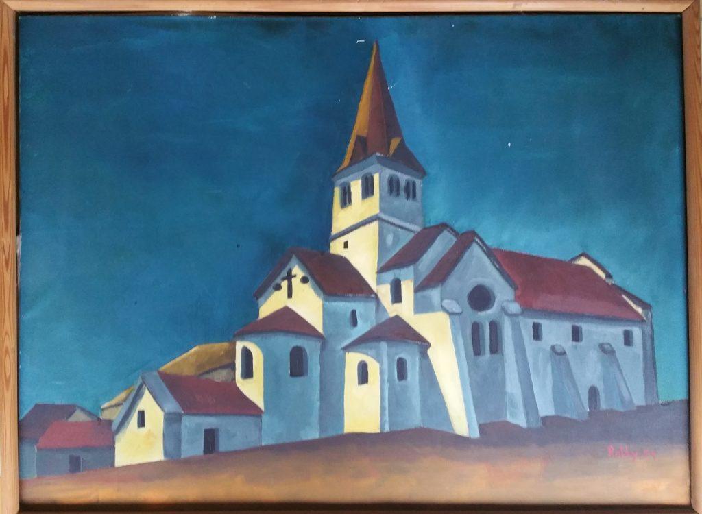 1954 l'église bleue 25P