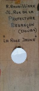 1963 la rose jaune HF5 verso (2)