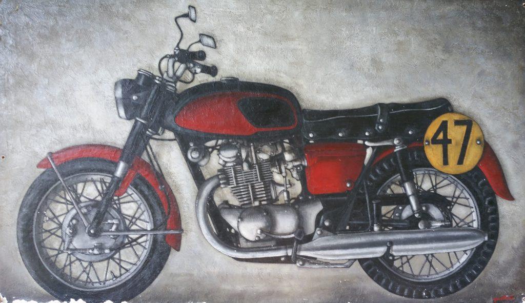 1966 la moto 120P 1,14-1,95 isorel type Honda années 1960