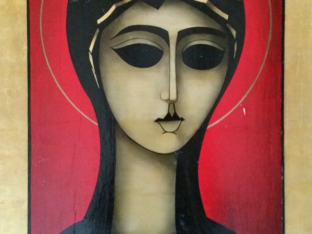 La vierge au diadème
