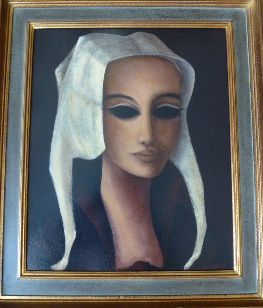 1975 la jeune femme au bonnet hollandais 8F