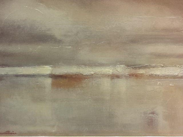 Brighton cliffs ou la côte anglaise sous la pluie