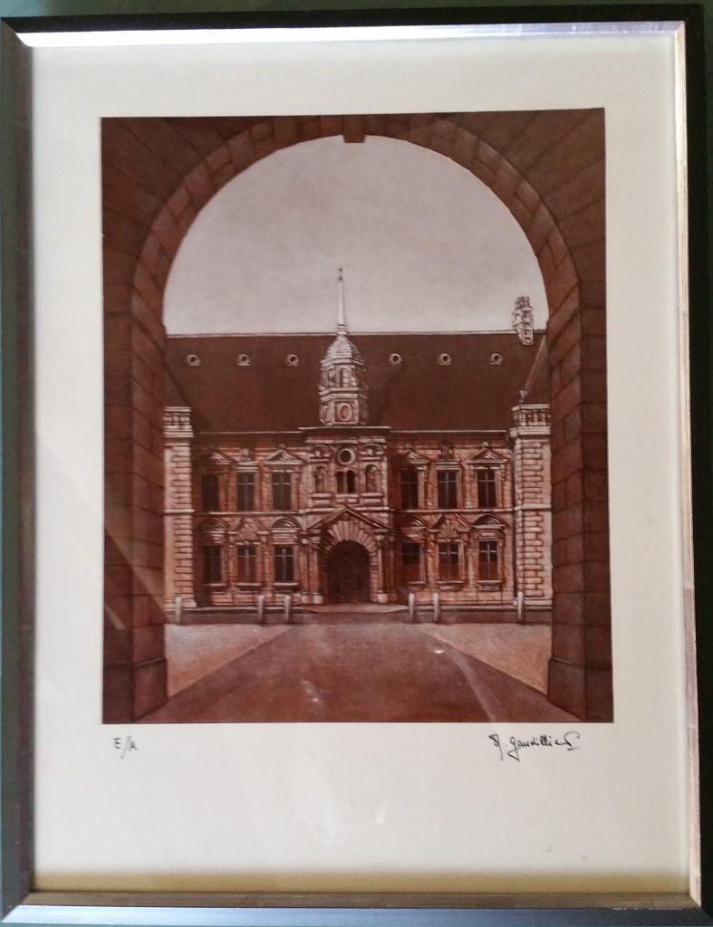 1985 le palais de justice reproduction E.A.