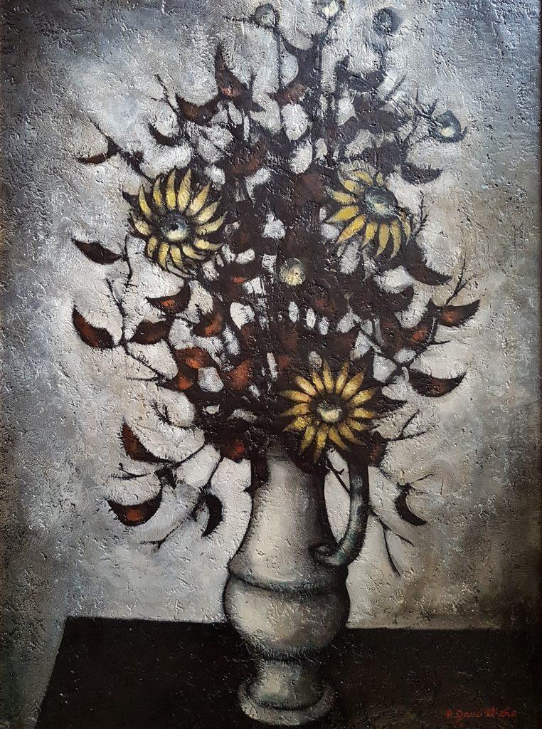 1968 le bouquet champêtre 25P 0,81-0,60 isorel