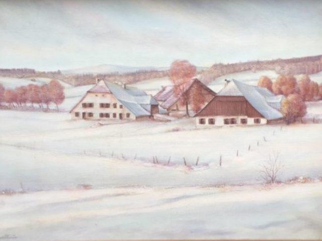 La béridole – première neige
