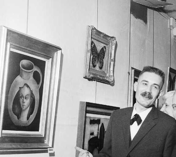 55-1966 Galerie Demenge Eos,le monarque papillon,les fers Bernard Faille Mémoire vive Besançon (4)