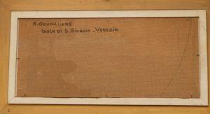 1962 isola di Saint Giorgio Venezia HF verso