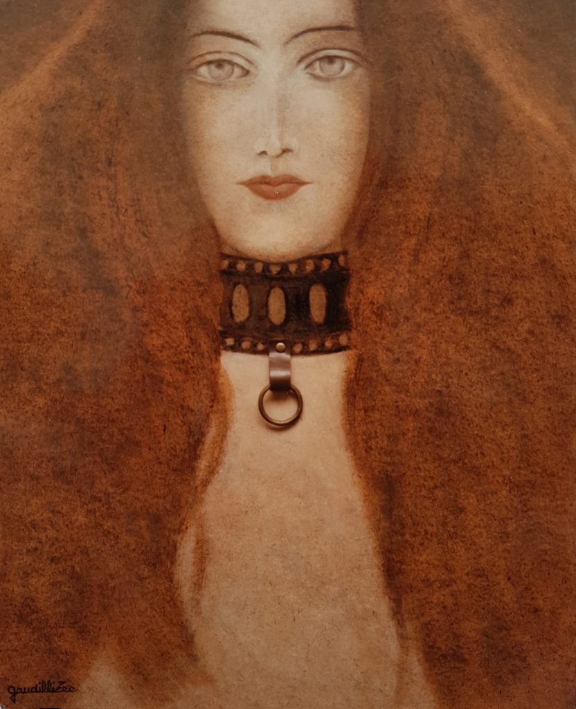 1985 la femme au collier 10F 0,56-0,46 isorel (2)