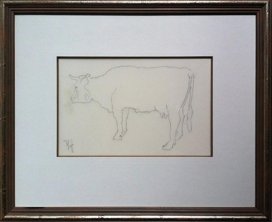 1991 vache étude
