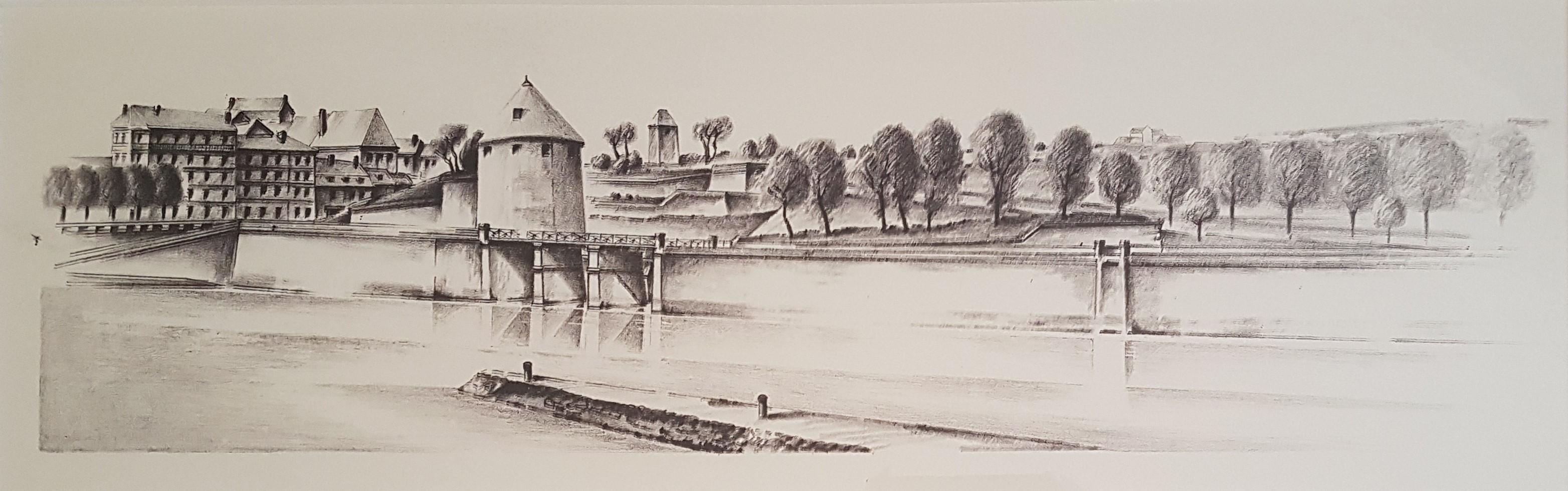 1970 La tour de la Pelote