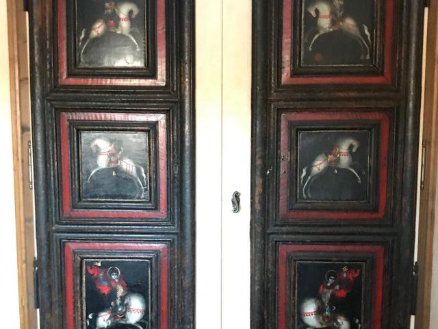 Iconostase, portes d'armoire