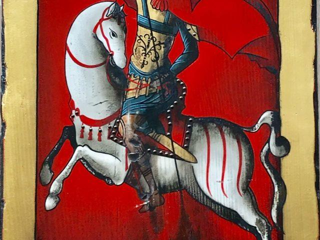Cavalier Saint-Georges icône