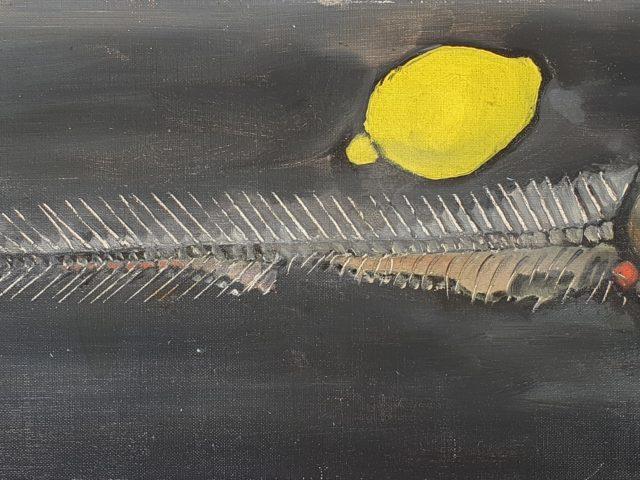 Arête de hareng au citron